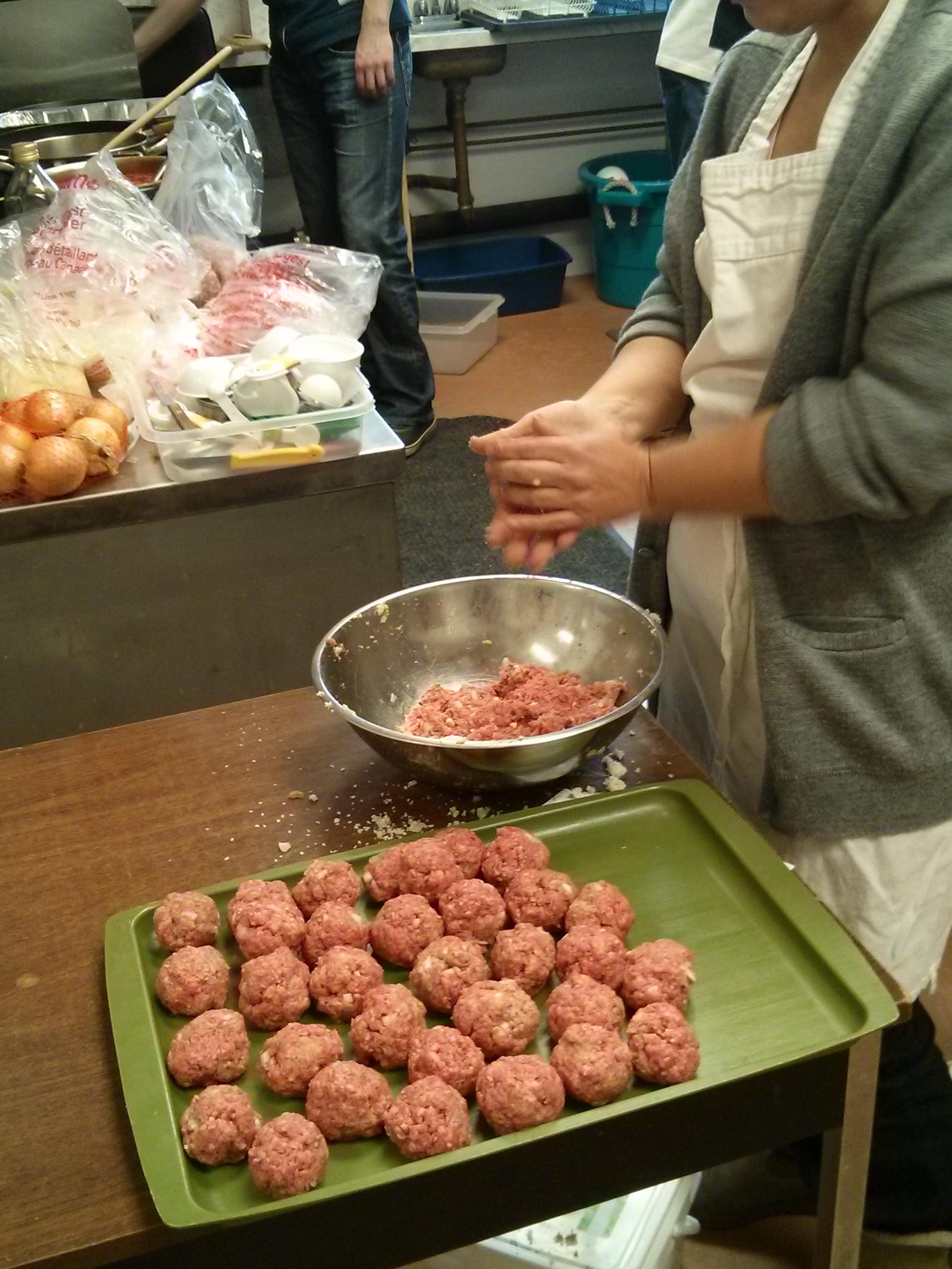 Meatball Production