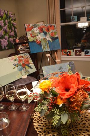 Nicole Allen's vibrant canvases
