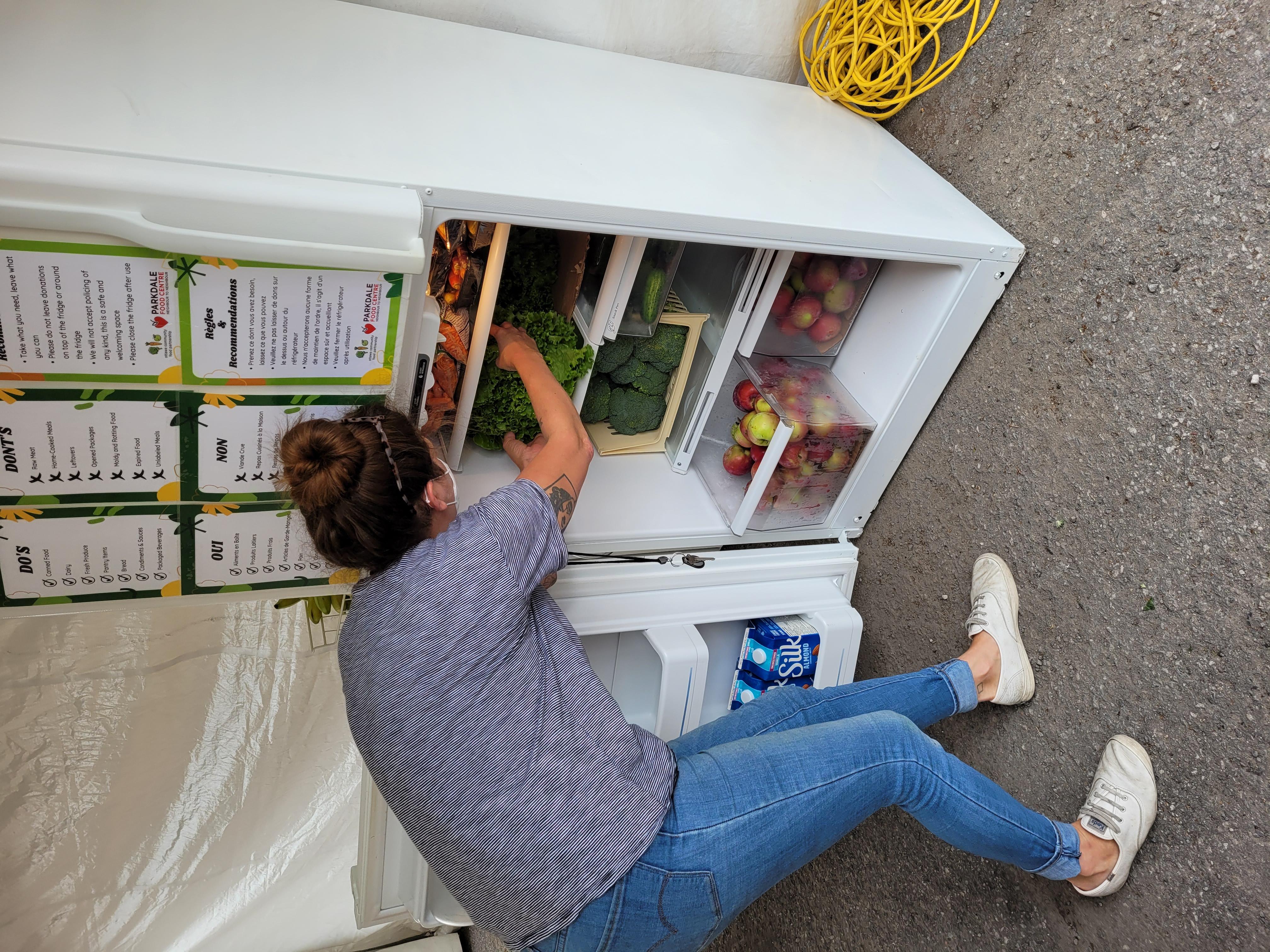 Community ,Fridge, Neighbour to Neighbour, Food bank, Ottawa Food Bank